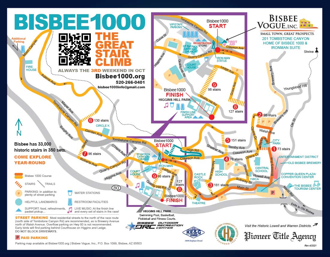 Bisbee 1000 The Great Stair Climb Bisbee Vogue Inc